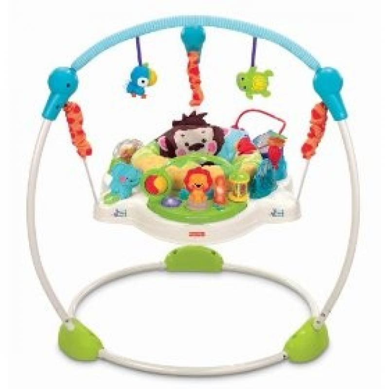 Jumperoo (pula-pula) Meus Bichinhos da Fisher Price