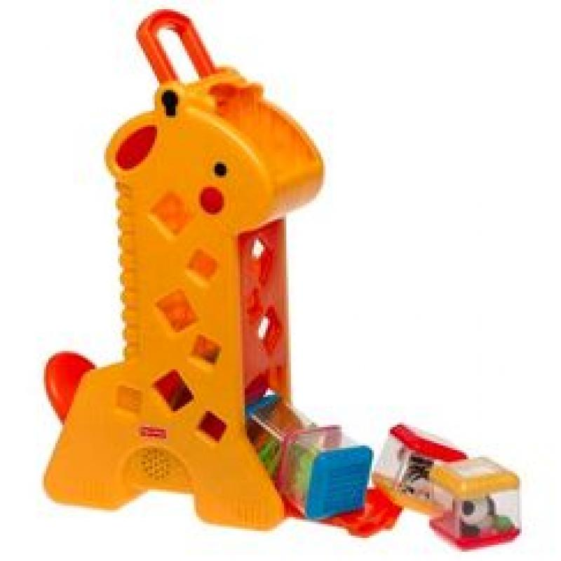 Girafa peek-a-blocks